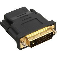 INLINE ® HDMI-DVI Adapter, HDMI Buchse auf  DVI Stecker (17660P)