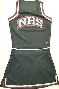 "XL High School Cheerleader Uniform Cheer Outfit Costume 40"" Top 32"" Skirt NHS"