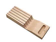 VICTORINOX Schubladen Messerhalter NEU/OVP Messerblock Einsatz f. 5 Messer Holz