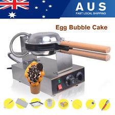 Egg Cake Oven Eggette Waffle Maker Baker Machine Electric Nonstick 50-250℃ 1400W