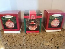 3 Mary Engelbreit Home Christmas ornaments 1993 1992