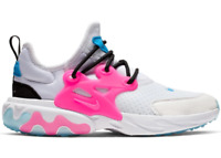 Nike Presto React (GS) Shoes Size 5Y / Womens 6.5 White Pink Blue Running NEW
