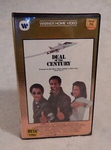 Betamax Beta DEAL OF THE CENTURY 1983 Chevy Chase Sigourney Weaver Gregory Hines