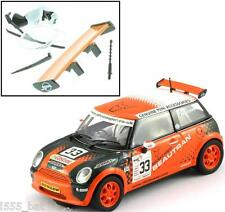 New Scalextric W9258 BMW Mini Cooper Spoiler, Lights, Mirrors, Aerial (C2732)