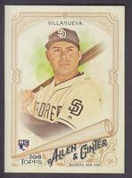 Topps - Allen & Ginter 2018 - Base SP # 315 C Villanueva - San Diego Padres RC