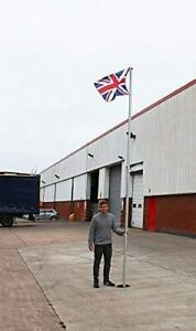 Wido 17ft Commercial Flagpole Aluminium Flag Pole With Flag Heavy Duty