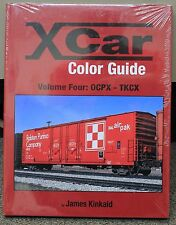 MORNING SUN BOOKS - X-CAR Color Guide Volume 4: OCPX - TKCX - HC 128 Pages