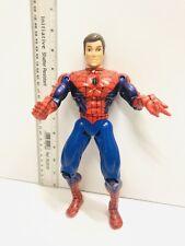 "Rare Marvel Universe Classic Spider-Man / Peter Parker 10"" Figure 1997 Toybiz"