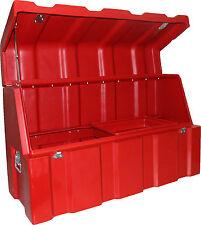 200lt Tradesman's B'ute Box - 970mmL x 400mmW x 600mmH - RED