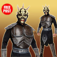 Star Wars Savage Opress Costume Deluxe Mens Muscle Halloween Sith Dark Lord XL