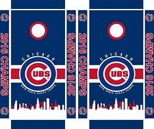 Chicago Cubs cornhole board set (includes 8 bags) High Quality boards CC2