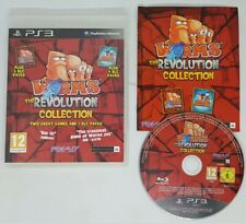 Worms The Revolution Collection - Sony PS3 - VERY RARE VGC FAST TRACKED POST
