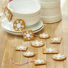 Raz Imports 4ft Gingerbread Cookie Garland