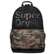 Superdry Neuf pour Homme Montana Sac à Dos - Double Camouflage avec Étiquette