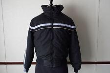 Vintage Gerry Winter Ski Puffer Down Jacket Men's Size L Made In USA Black