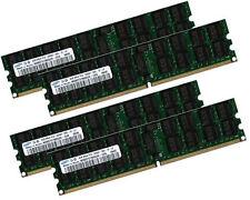 4x 4GB 16GB ECC RAM Speicher Tyan Tempest i5400XL (S5392) 667 Mhz Registered