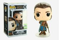 Rare Arya Stark ECCC Funko Pop Vinyl New in Mint Box + Pop Protector