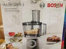 Bosch MCM3501M Kompakt-Küchenmaschine Multitalent 3, 800 W, 2 Arbeitsstufen und
