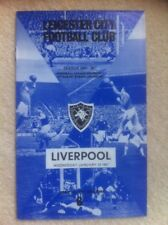Leicester City v Liverpool Football Programme 1966/1967