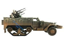 1:32 Diecast Unimax Toys Forces of Valor WWII US Army M16 Halftrack Quad 50Cal