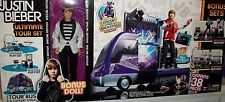 Justin Bieber Doll Tour Bus Concert Stage dressing room Xmas MP3 music gift rare