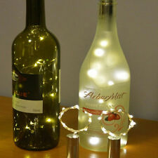 15 LED Bright White Light Wine Bottle Lamp for Wedding Party Xmas Decoration