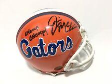 Jim McElwain Signed Florida Gators Mini Helmet Chomp Chomp
