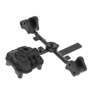 Axial Racing AX31437 AR44 Diff Cover & Link Mounts Black