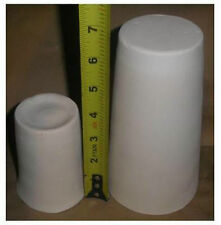 Lot of 2 Vase Candle holder  fusing glass slump draping kiln molds
