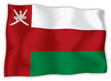 Oman bandiera etichetta flag sticker 15cm x 11cm