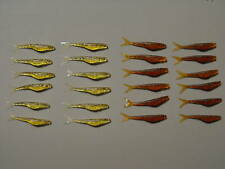 48 Soft Rubber Minnow Lure - Bass - Trout - Pan Fish