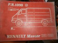 Renault MASTER traction : catalogue pièces PR1090-10