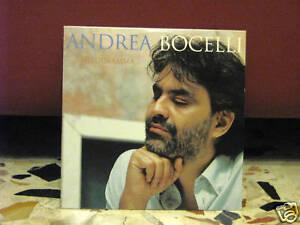 ANDREA BOCELLI-MELODRAMMA-PROMOZIONALE cardsleave