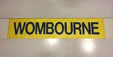 """Birmingham Bus Destination Blind 31""""- Wombourne"""
