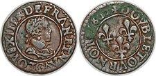 LOUI XIII E DOUBLE TOURNOIS 1622 G POITIERS G.5