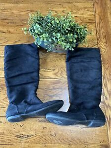 Suede Boots Faux Leather Tal American Eagle 7.5