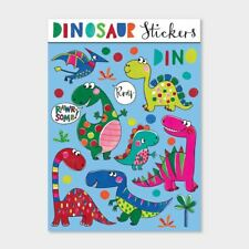 Childrens Fun Stickers | Dinosaur Birthday Party Bag Favours Stocking Fillers