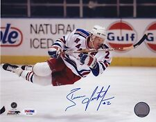BRIAN LEETCH Signed Autograph Auto 8x10 Photo Picture New York Rangers PSA/DNA