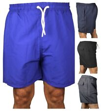 Mens Swim Shorts Swimming Zip Pockets Mesh Trunks Bottoms Swimwear Pants Pk 1