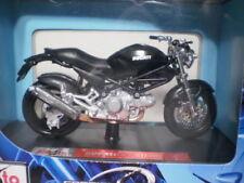 Motos et quads miniatures noirs pour Ducati 1:18
