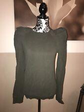 Miss Sixty Pullover, Olivgrün, Größe S