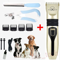 NEW Pet Dog Cat Grooming Clipper Hair Trimmer Groomer Shaver Razor Quiet Clipper