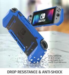 For Nintendo Switch Console Joy-Con Controller, Genuine Grip Dockable Cover Case