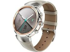 ASUS ZenWatch 3 Android Wear Smartwatch Silver Case, Beige Leather Strap WI503Q