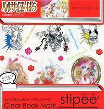LADY OSCAR JAPAN CLEAR BOOKMARK X18 MARGARET 50TH ROSE VERSAILLES Riyoko Ikeda