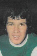 Football Photo>JIM O'ROURKE Hibernian 1972-73