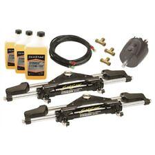 Seastar Hydraulic Steering Kit 2 Cylinder FrontMount-Helm-Hose Twin engine 600Hp