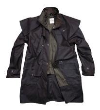Brown Short Coat, Cotton Oilskin Weather Proof Riding Coat by Driza-Bone