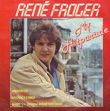 "RENE FROGER – My Hitparade (1984 NEDERPOP VINYL SINGLE 7"")"