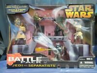 Star Wars BATTLE PACK JEDI vs SEPARATISTS: Obi-Wan|Anakin|Maul|Jango Fett|Mace